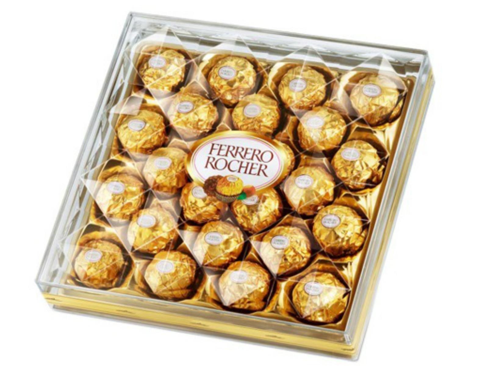 24 pieces Ferrero Rocher